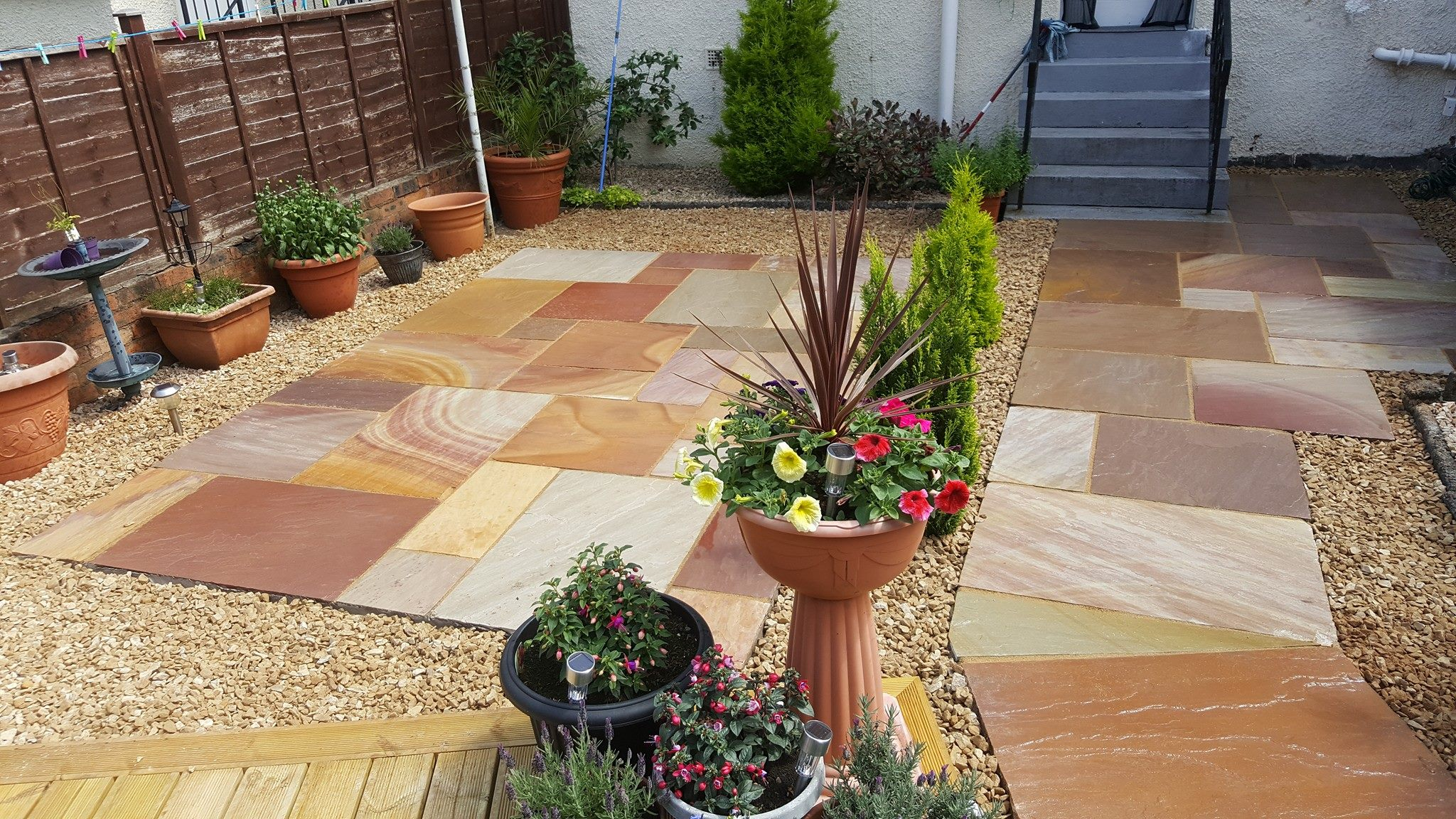 landscapers in bearsden
